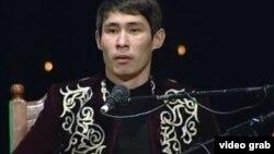 Аян Сейітов, айтыскер ақын. Шымкент, 15 наурыз 2013 жыл.