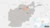 ولایت سمنگان در نقشه عمومی افغانستان