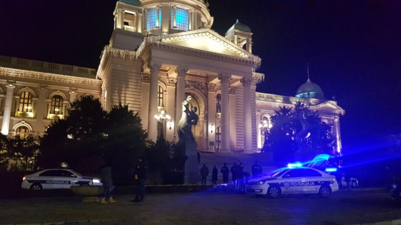 Man Shoots Himself Dead Outside Serbian Parliament