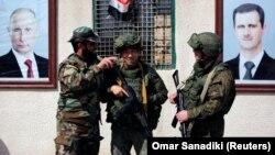 Сирийские и российские военные в Сирии (иллюстративное фото)