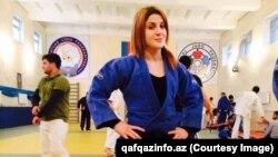 Aishe Qurbanli, judoist