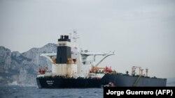 Petrolierul Grace 1, în coasta Gibraltarului, 6 iuie 2019
