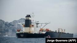 «Грэйс-1» мунай танкери. Гибралтар, 6-июль, 2019-жыл.