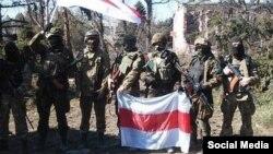 Беларускія добраахвотнікі, якія ваююць за Ўкраіну.