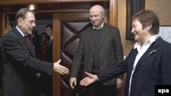 Хавіер Саляна, Аляксандар Казулін, Жана Літвіна