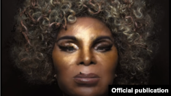 Detaliu de pe coperta albumului Deus É Mulher, Elza Soares, 2018.