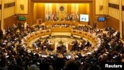 یکی از نشستهای اتحادیه عرب در قاهره