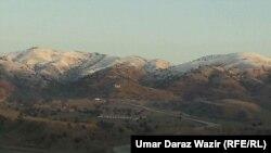 The remote Ghulam Khan border crossing
