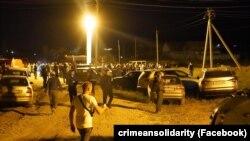 Aqmescit rayonınıñ Mamaq köyünde iyülniñ 25-ne geçer gecesi Musa Suleymanovnı qıdıralar