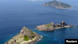 Pamje e ishujve të kontestuar në Detin Lindor Kinez