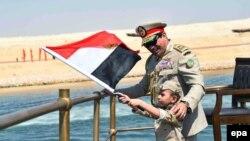 Egipatski predsednik na otvaranju proširenog Sueckog kanala