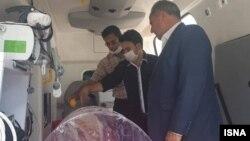 عکسی که خبرگزاری ایسنا از «درمان سرپایی مجروحان» منتشر کرده است