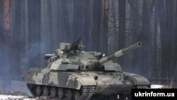 Бойовий танк української армії Т-64БМ «Булат»