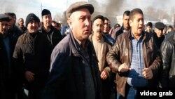 Акция протеста в Азербайджане против подорожания товаров и безработицы.