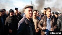 Протесты в Азербайджане.