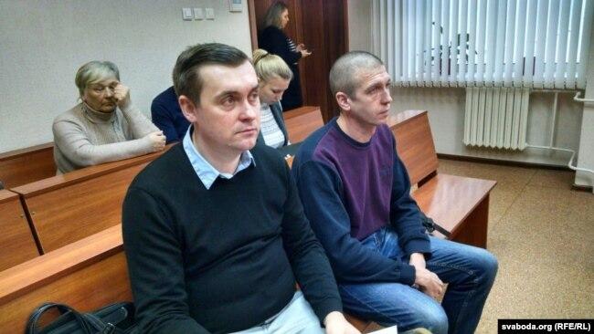 Сергей Проценко (справа) и Андрей Стрижак