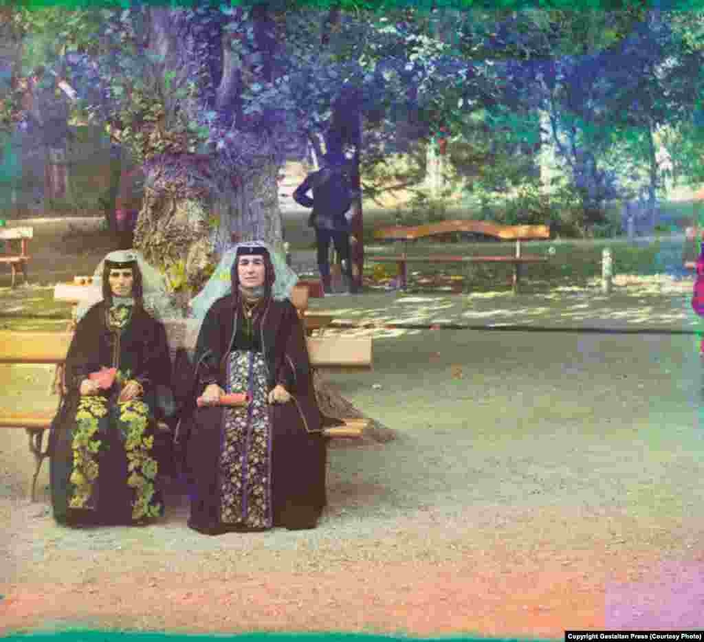 Armenian Women in Holiday Attire in Artvin, between 1905 and 1915