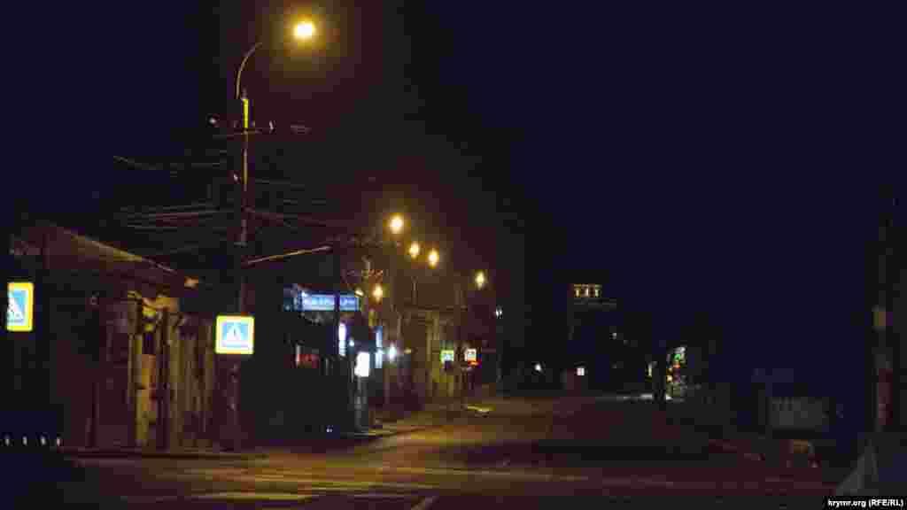 Світло є і на вулиці Пролетарській у центрі міста