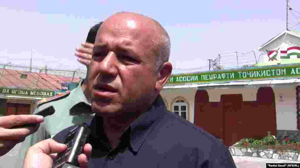 Бывший командир ОТО Иброхим Ёрибеков