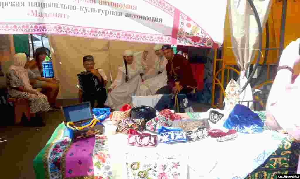 Бәйрәмдә татар күргәзмәсе