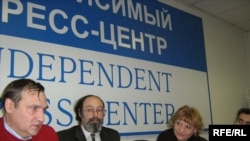 """Пресс-конференция """"Голоса"""", 2007 год."""