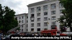 В день взрыва в Луганской ОГА, 2 июня 2014 года