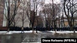 """Membri și susținători ai Platformei """"Demnitate și Adevăr"""" demonstrează la Chișinău"""