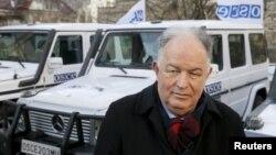 Голова Спеціальної моніторингової місії ОБСЄ в Україні Ертугрул Апакан