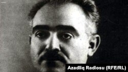 Azerbaijan -- writer Yusif Vazir Chamanzaminli (1887-1943), undated