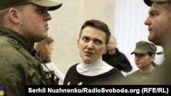 Надія Савченко у суді, 29 березня 2018 року