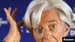 Керівник МВФ Крістін Лаґард