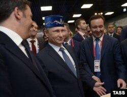 Путин Миланда EXPO күргәзмәсендә. 10 июнь