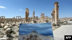 Экстремисттерден бошотулган Пальмира.