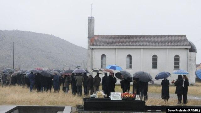 Katoličko groblje, Dinoša