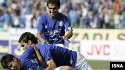 تیم استقلال تهران نیم فصل اول لیگ برتر را با یک پیروزی پر گل به پایان برد. عکس از ایسنا