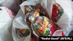 Подарки для детей-инвалидов Гиссара, 24 декабря 2014 года.