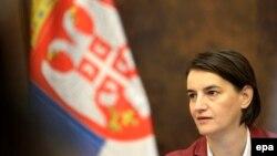 Kryeministrja e Serbisë, Ana Brnabiq.