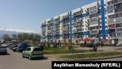 Один из домов жилого комплекса «Асыл арман» в Карасайском районе Алматинской области.