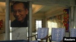 На церемонии вручения Нобелевской премии мира китайскому правозащитнику Лю Сяобо, находящемуся в тюрьме (Осло, 10 декабря 2010 года)
