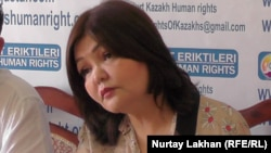 Aiman Omarova, a lawyer for the Volunteers of the Fatherland group said that the Kazakh Justice Ministry has refused to register the organization four times.