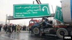 روزانه پنجاه نفر در ایران در اثر تصادفات جادهای میمیرند