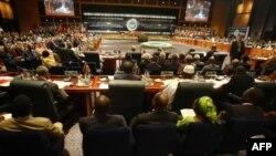 مراسم افتتاحيه پانزدهمين اجلاس سران جنبش عدمتعهد در شرمالشيخ، چهارشنبه ۲۶ تير ۱۳۸۸
