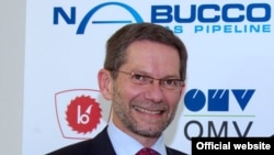 Nabucco konsorsiumunun direktoru Reinhard Mitschek
