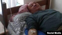 Абдылда Капаров в больнице в Балыкчи. 3 января 2019 года.