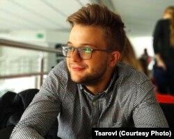 Студент державного Університету Масарика Ігор Царьов