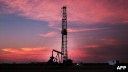 Нафтавая вышка ў Тэхасе, ЗША.