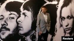 Bjoern Ulvaeus, anëtar i grupit legjendar Abba, në Muzeun ABBA në Stokholm.