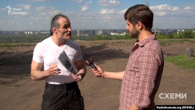 Андрій Римар каже, що не може мовчки дивитися, як нищать об'єкти Лаври