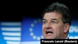 I dërguari i posaçëm i Bashkimit Evropian për dialogun ndërmjet Kosovës dhe Serbisë, Mirosllav Lajçak.