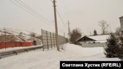 Новый забор на ул.Брянская. Красноярск. 2019 г.